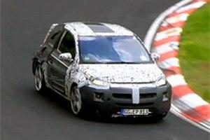 Шпигуни зняли малолітражку Opel Adam