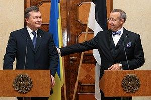 Эстония поддерживает подписание соглашения об ассоциации между Украиной и ЕС