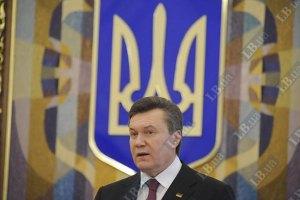 Янукович отказался критиковать журналистов