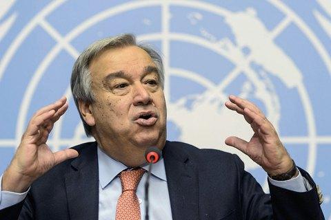 Новий генсек ООН вступив на посаду