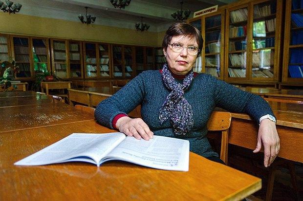 Старший науковий співробітник Інституту математики НАНУ Ірина Єгорченко