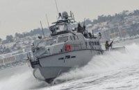Корабли РФ осуществили провокацию в отношении украинских катеров в Азовском море