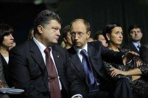Порошенко залишить Яценюка на посаді прем'єра