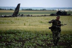 Расположение огневых точек террористов в Луганске были известны, - Семенченко