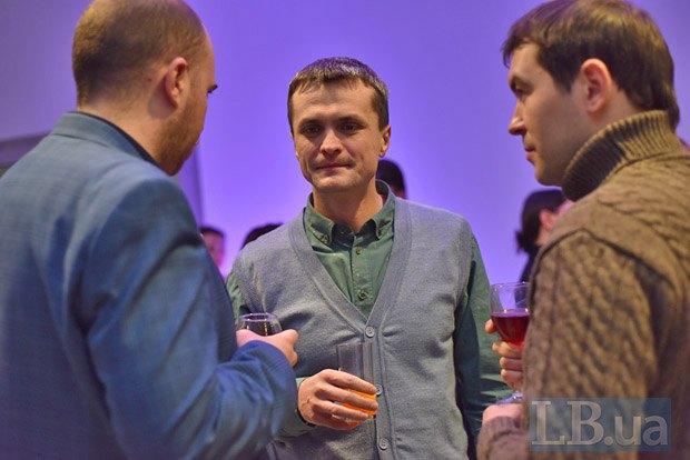 Слева направо: Сергей Щербина, Игорь Луценко и Максим Каменев