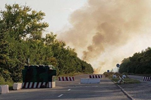 КПВВ між Донецьком і Маріуполем другий день не працює через детонацію мін