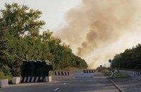 КПВВ между Донецком и Мариуполем второй день не работает из-за детонации мин