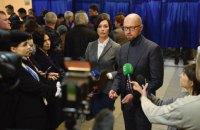Яценюк: новий президент повинен знайти в собі сили звернутися до прихильників опонента