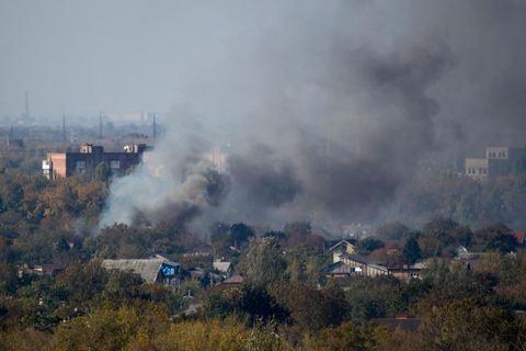 Двоє військових загинули, восьмеро поранені через обстріл Авдіївки
