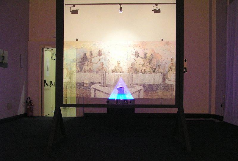 Экспозция проекта Виктора Сидоренко в Венеции