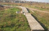 В Николаевской области вымостили дорогу плитами с именами погибших в ВОВ