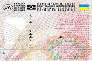 Новые водительские права будут стоить миниму 250 грн