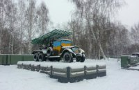 В Новосибирске два памятника раскрасили в цвета флага Украины