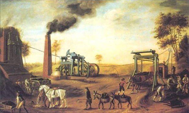 Дорогая рабочая сила положила начало Промышленной революции в Англии в 18 столетии
