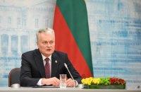 Президент Литвы: ни один человек в здравом уме не поверит, что Тихановская записала видеообращение добровольно