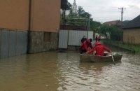 ДСНС показала наслідки злив на Закарпатті