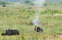 За сутки боевики 27 раз обстреляли позиции ВСУ на Донбассе