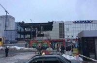 У Харкові вночі частково згорів торговий центр