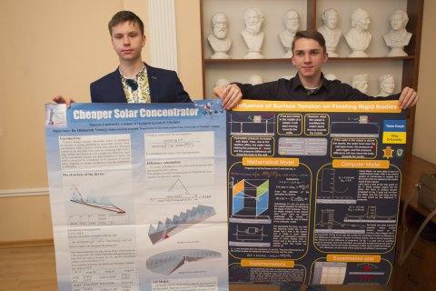 Школярі з Чернівців взяли три медалі на міжнародній конференції