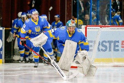 Украинские хоккеисты проиграли второй матч на домашнем чемпионате мира