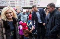 Кличко открыл новый детсад на Троещине