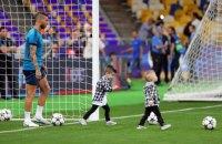 """Игроки """"Реала"""" на тренировку перед финалом ЛЧ взяли своих сыновей"""