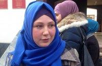 Суд у Криму виправдав дружину політв'язня, обвинувачену в непокорі судовому приставу