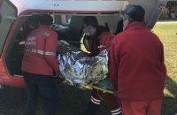 Авіабригада МВС доставила жертву ДТП до обласної клінічної лікарні швидкої допомоги