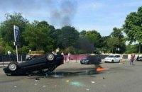 Парижские таксисты объявили забастовку