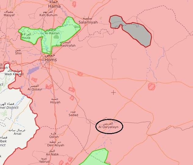 Точечные удары ВКС позволили САА продвинуться навосток Хомса
