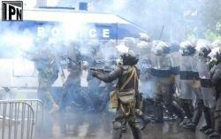 В Грузии наказали полицейских, разгонявших демонстрантов