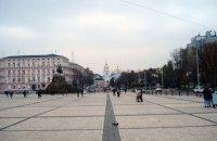 В центре Киева возобновили движение транспорта после праздников