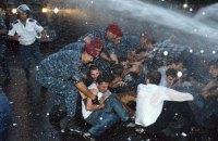 У Вірменії почалося розслідування дій поліції при розгоні демонстрації в Єревані