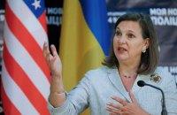 Нуланд уговаривала депутатов вспомнить в Конституции о Донбассе