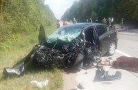 Три человека погибли и один травмирован в ДТП в Житомирской области