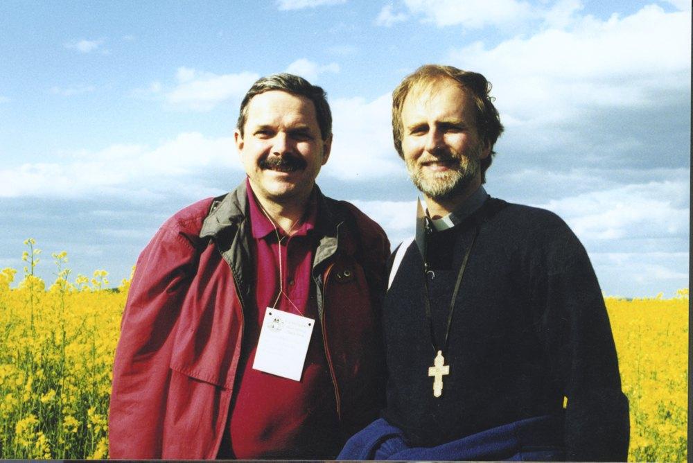 Владика Борис та Мирослав Маринович (справа)