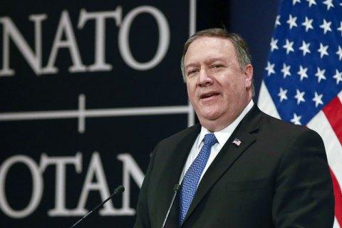 Помпео назвав санкції США проти Ірану неминучими