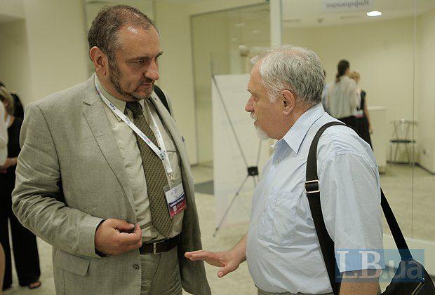 Владимир Дубровский и Семен Глузман, член коллегии Государственной Пенитенциарной службы Украины и постоянный автор LB.ua