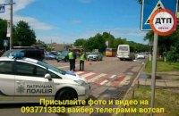 Двух девочек на роликах сбил автобус в Борисполе, одна из них погибла