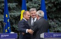 Порошенко: Украина должна отстаивать на саммите ЕС усиление санкций против России и новую программу помощи