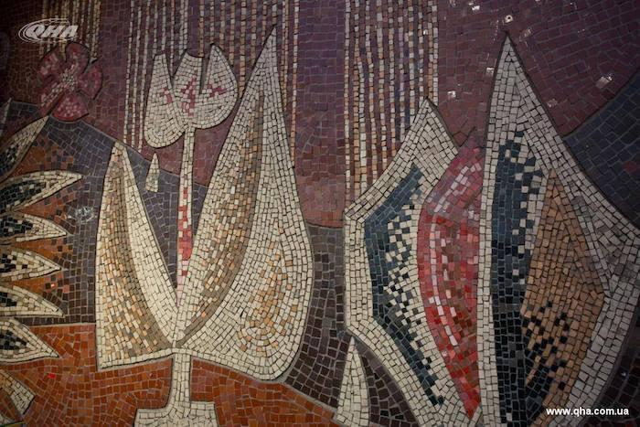 Фрагмент закрытой мозаики