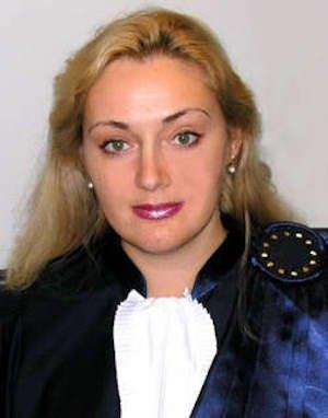 Ганна Юдківська, суддя Європейського суду з прав людини від України.