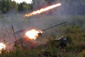 З Росії Україну обстрілюють касетними боєприпасами, - прес-центр АТО