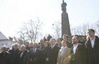 На Тарасовой горе в Каневе вручили Шевченковскую премию