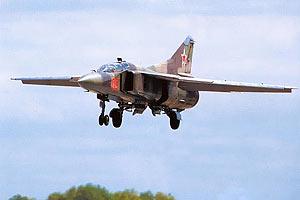 Сирийское телевидение заявило о потере МиГ-23