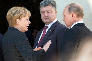 Порошенко и Путин проводят третью встречу за день