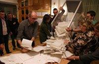 ЦВК прийняла всі оригінали протоколів про результати виборів другого туру