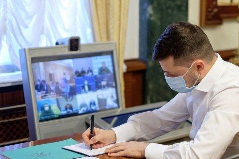 Зеленский продолжает работать из офиса на Банковой