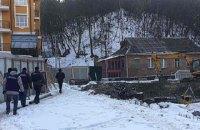 На Воздвиженке в Киеве остановили незаконное строительство