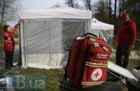 Київські рятувальники провели навчання для протидії лісовим пожежам